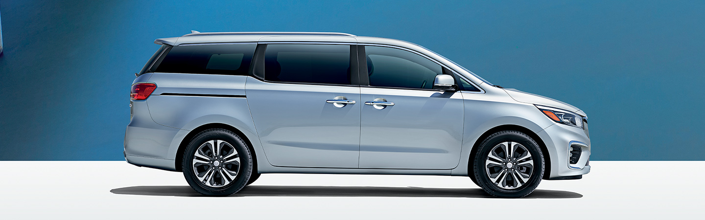 Side profile of the 2019 Kia Sedona available at Bob Moore Kia