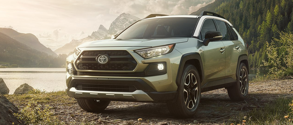 The 2019 Toyota RAV4 is available at World Toyota in Atlanta, GA