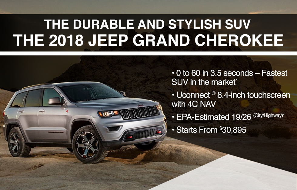2018 JEEP GRAND CHEROKEE AVAILABLE OKC