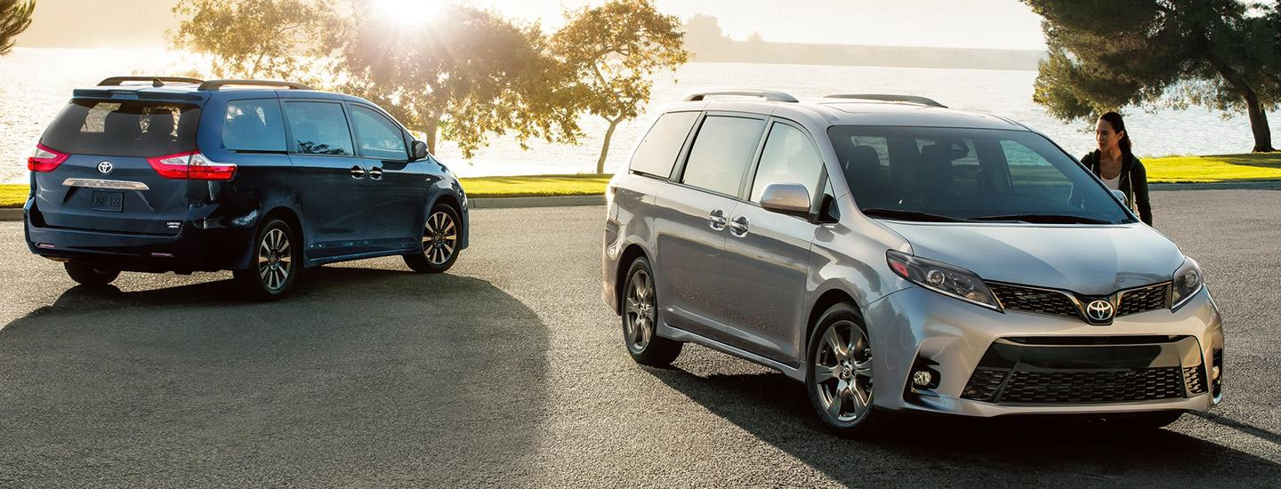 2020 Toyota Sienna for sale at Spitzer Toyota in Monroeville PA.