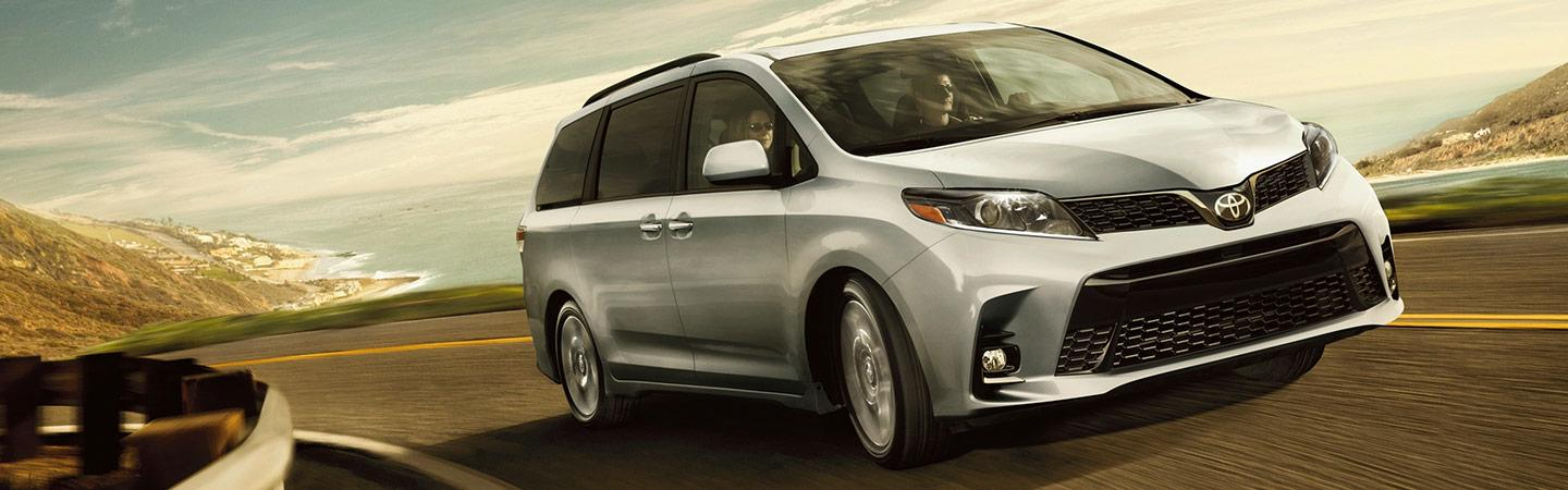 New 2020 Toyota Sienna available at Spitzer Toyota Monroeville PA.