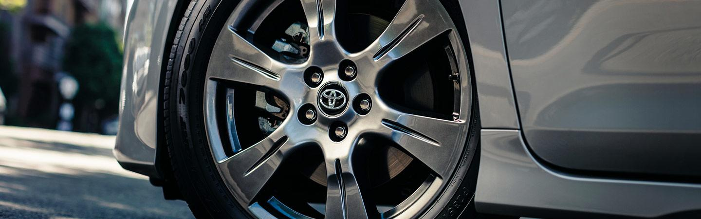 Wheels of the 2020 Toyota Sienna available at Spitzer Toyota Monroeville PA.