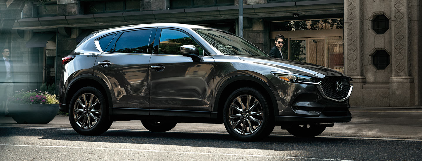The 2019 Mazda CX-5, available at our Mazda dealership in Naples, FL.
