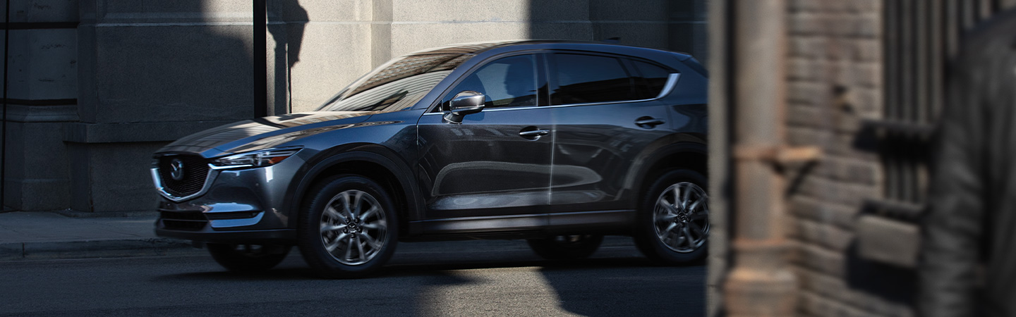 2019 Mazda CX-5 in motion, available at Naples Mazda