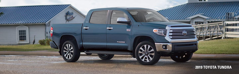 The 2019 Toyota Tundra driving in Atlanta, GA