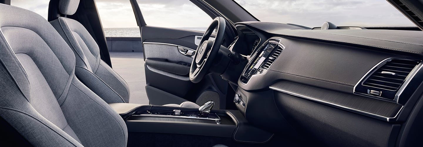 Interior features of the 2020 Volvo XC90
