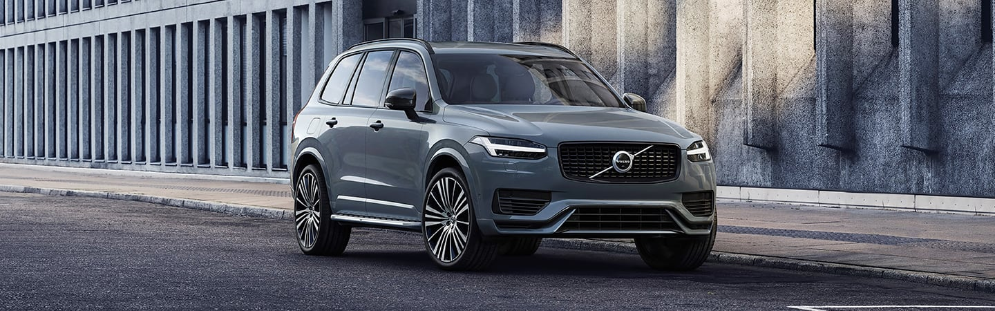 2020 Volvo XC90 parked in the city