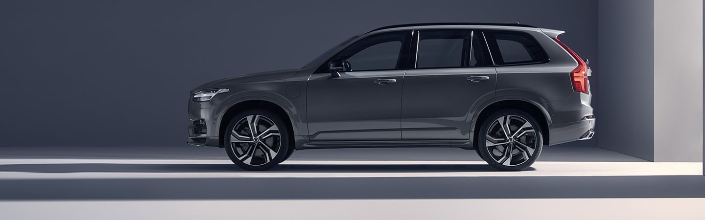 Side view of the 2020 Volvo XC90
