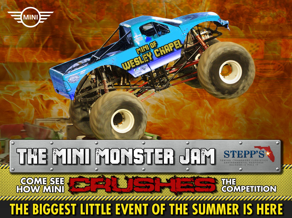 The MINI Monster Jam in Wesley Chapel, FL
