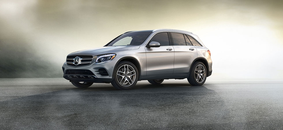 2019 Mercedes-Benz GLC Exterior – Parked in a lot.