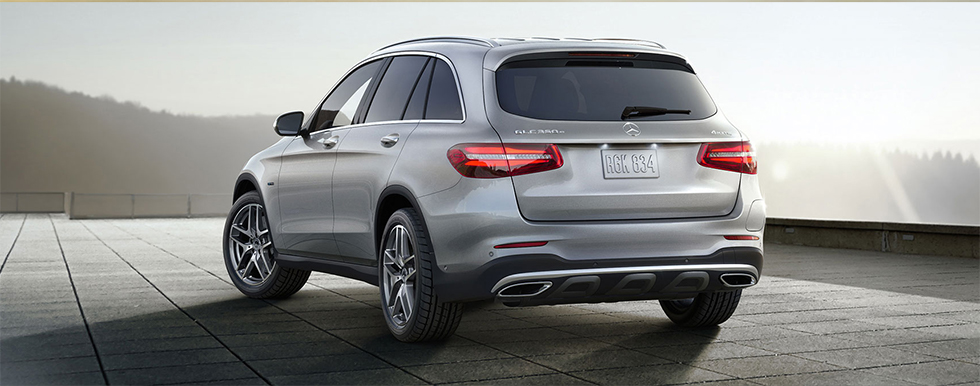 Mercedes-Benz GLC rear view