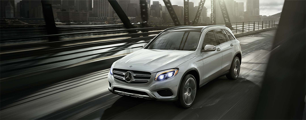 Mercedes-Benz GLC in motion
