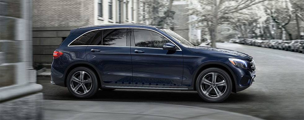 Mercedes-Benz GLC side view