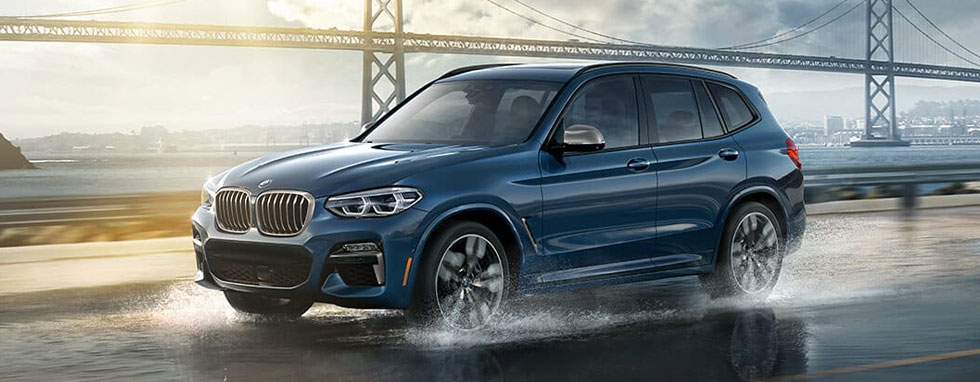 Exterior of the 2019 BMW X3 - available at our BMW dealership near Atlanta, GA