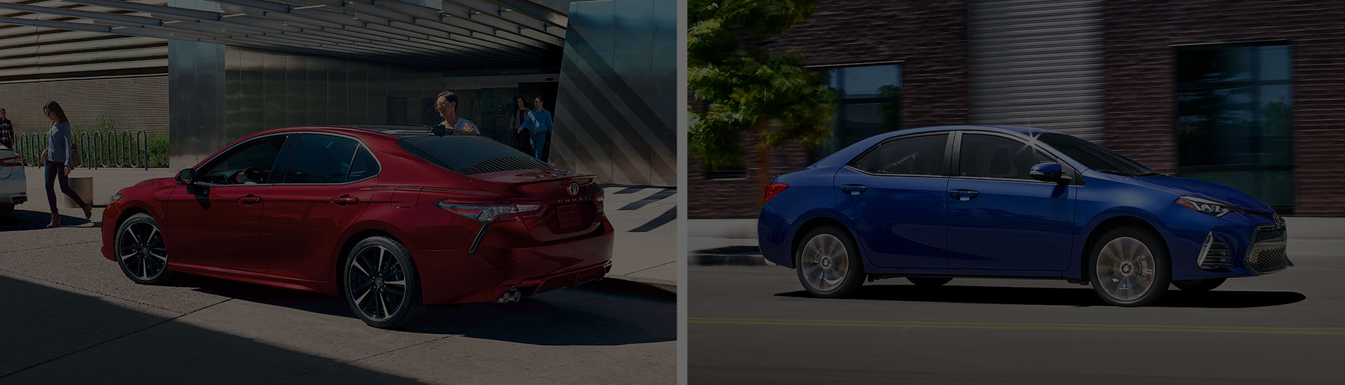The 2018 Toyota Camry and 2018 Toyota Corolla is available at Rivertown Toyota in Columbus, GA