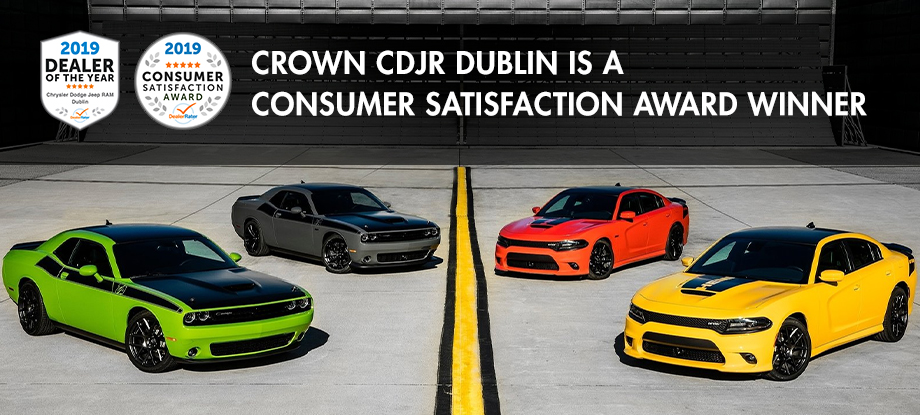 Crown Chrysler Dodge Jeep Ram - Consumer Satisfaction Award Winner