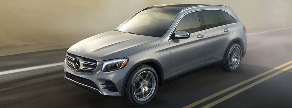 Exterior of the 2019 Mercedes-Benz GLC - available at our Mercedes-Benz dealership near Aiken, SC