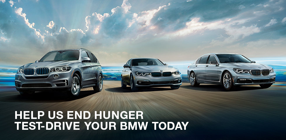 Help Us End Hunger Test-Drive Your BMW Today