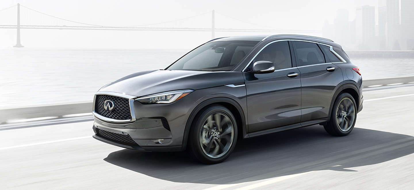 The 2019 INFINITI QX50 is available at our INFINITI dealership in Oklahoma City, OK.