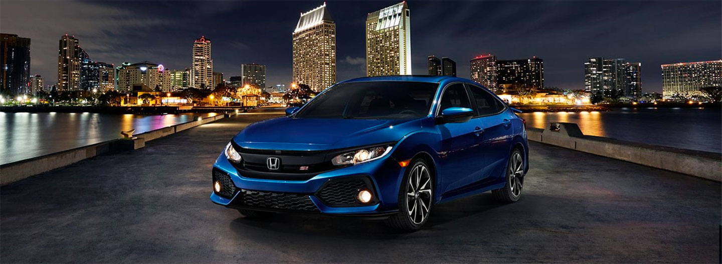 Front of the 2018 Honda Civic
