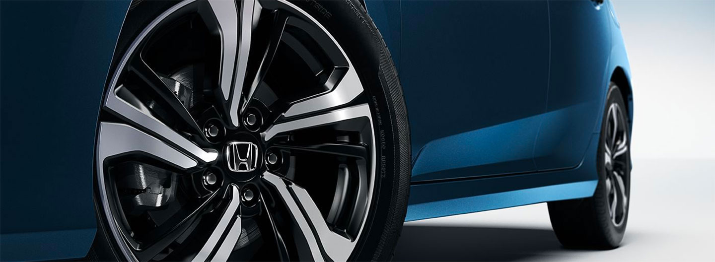 Wheels of the 2018 Honda Civic