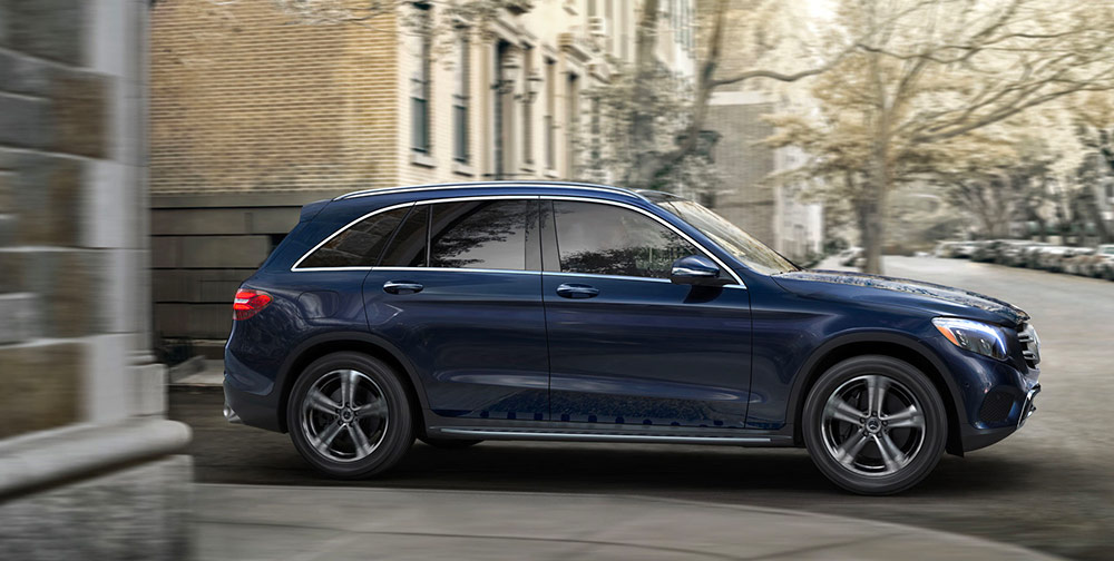 Exterior of the 2019 Mercedes-Benz GLC - available at our Mercedes-Benz dealership in Augusta, GA