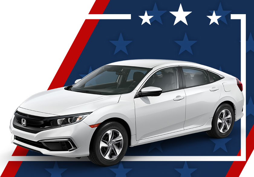 NEW 2019 Honda Civic Sedan 2.0L LX