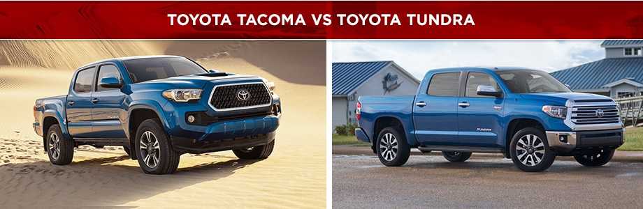 The 2018 Toyota Tacoma and 2018 Toyota Tundra are available at Rivertown Toyota in Columbus, GA