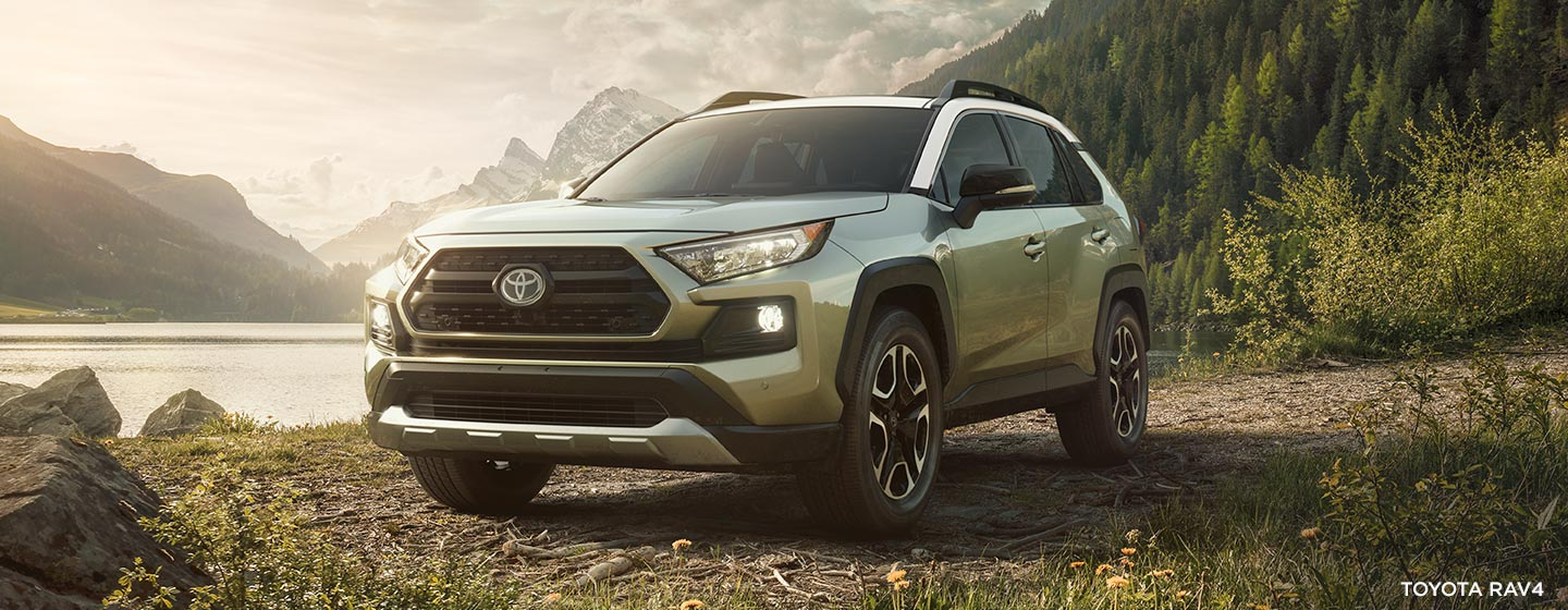 Exterior of the 2019 Toyota Highlander available at our Toyota dealership in Rock Hill, SC