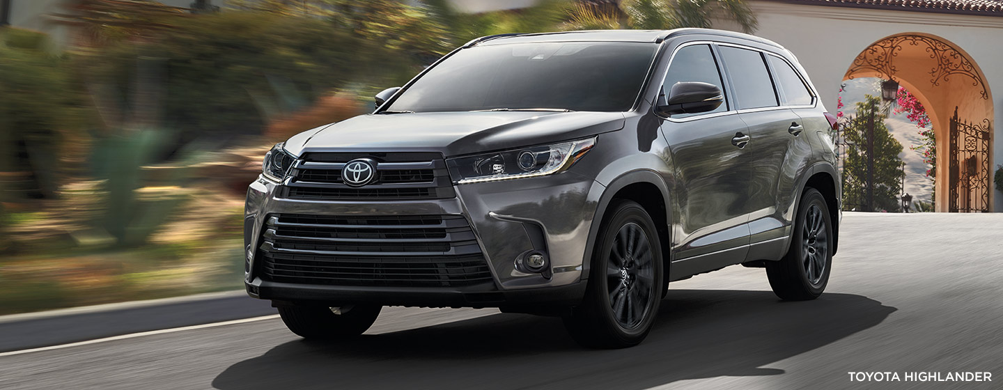 Exterior of the 2019 Toyota RAV4 available at our Toyota dealership in Rock Hill, SC