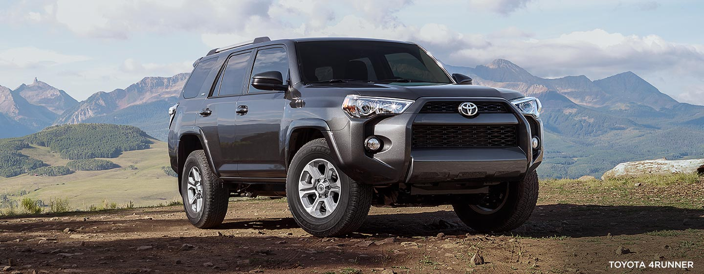 Exterior of the 2019 Toyota 4Runner available at our Toyota dealership in Rock Hill, SC