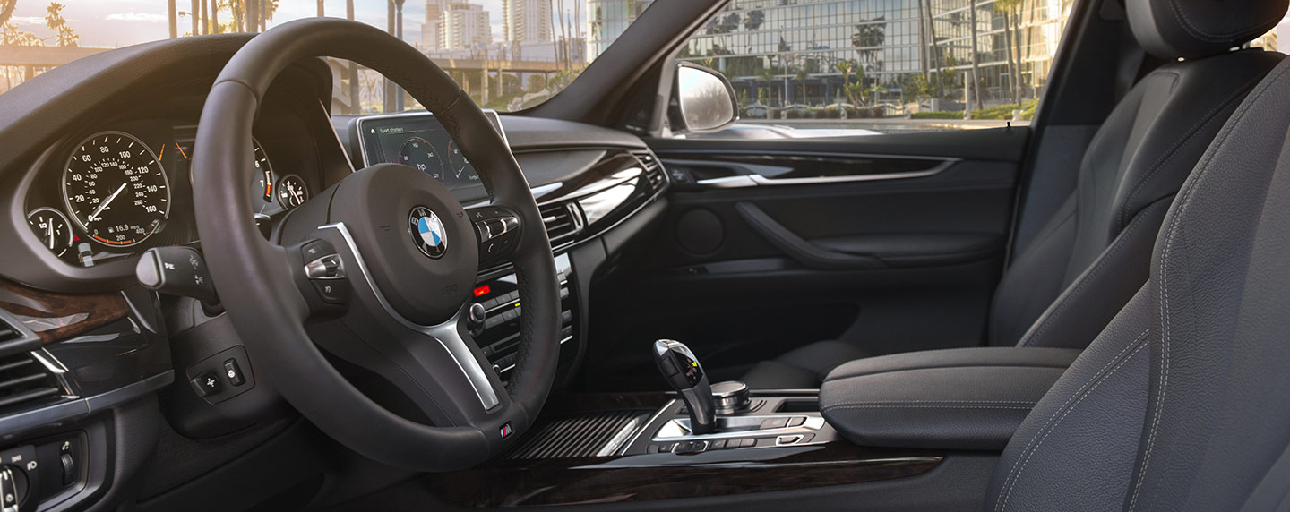 Safety features and interior of the 2018 BMW X5 - available at your preferred BMW Dealer near Boca Raton and Delray Beach