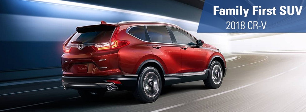 Exterior of the 2018 Honda CR-V at Honda of Fort Myers near Cape Coral