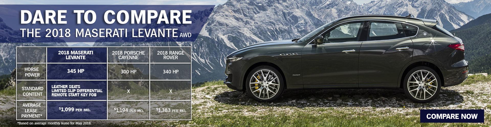 2018 Maserati Vs Top Competitors Maserati Van Nuys