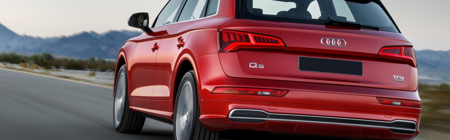 Rear profile view Audi Q5
