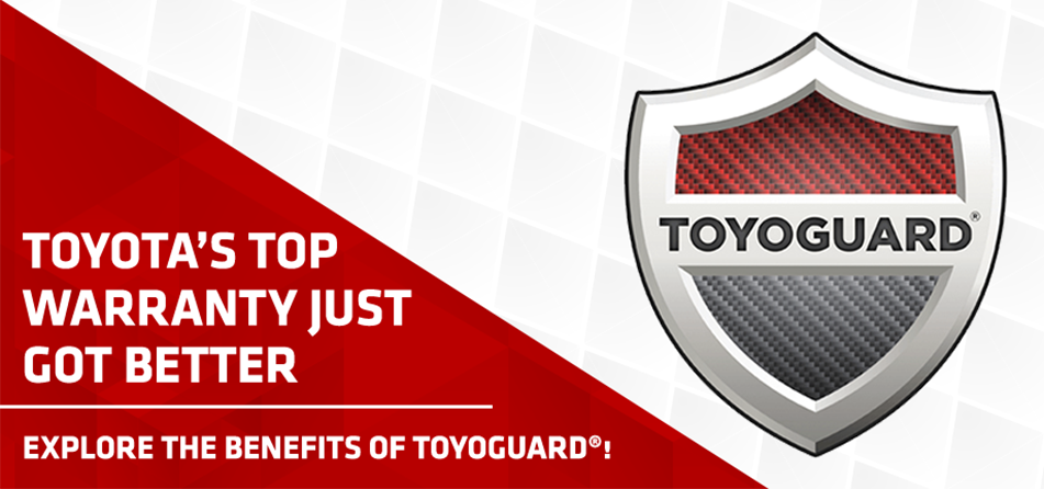 For extra protection that you can count on, upgrade to ToyoGuard. This plan continues the excellent service and safety of your vehicle after ToyotaCare® has expired and even expands on it! Come in to Rountree Moore Toyota today to learn more!