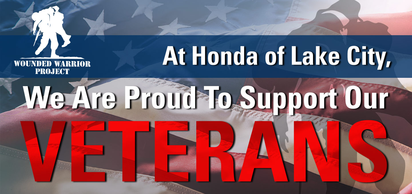 We're Proud To Support Our Veterans