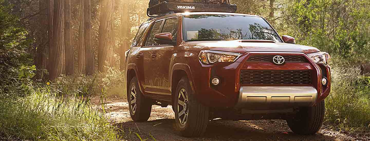 The 2019 Toyota 4Runner is available at our Toyota dealership in Columbus, GA.