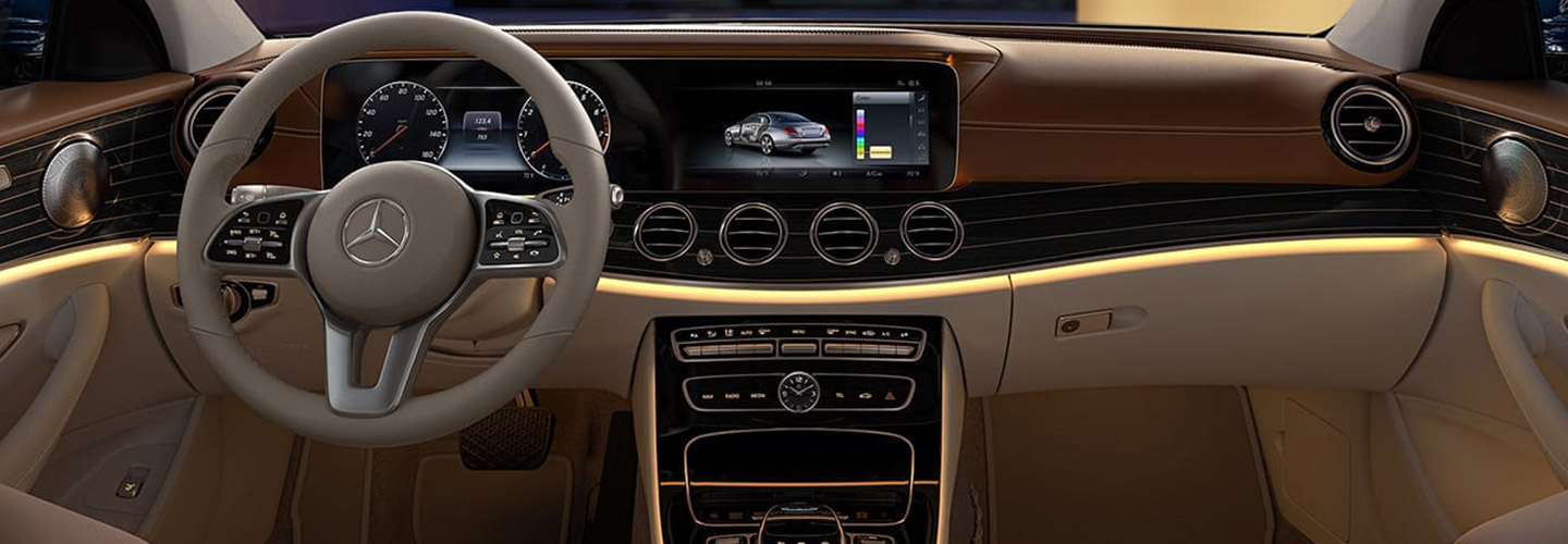 Interior of the 2019 Mercedes-Benz E-Class at our Augusta car dealership