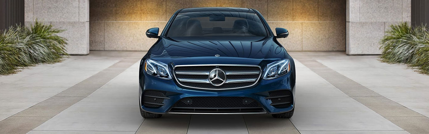 Exterior of the 2019 Mercedes-Benz E-Class available at our Augusta car dealership