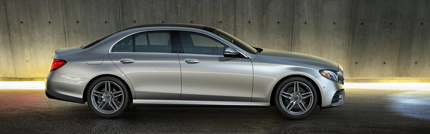 Exterior of the 2019 Mercedes-Benz E-Class available at Mercedes-Benz of Augusta
