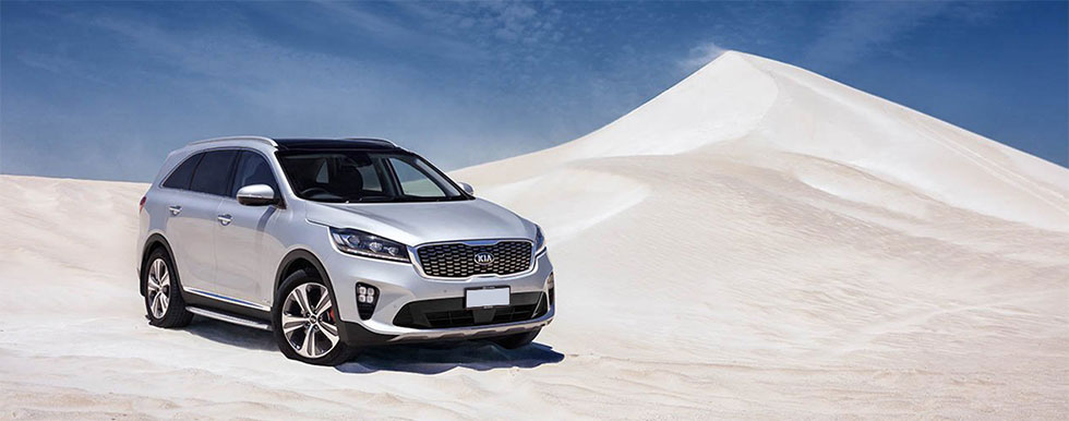 Exterior of the 2019 Kia Sorento - available at our Kia dealership near Columbus, OH.