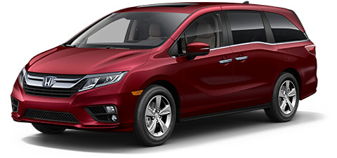 2019 Honda Odyssey EX-L at At Honda Of Fort Myers