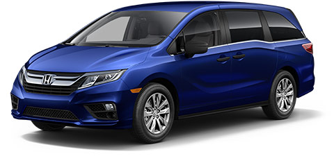 2019 Honda Odyssey LX at At Honda Of Fort Myers