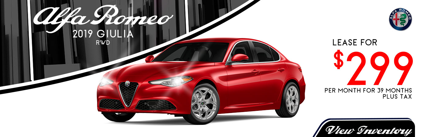Giulia Lease for $299 per month
