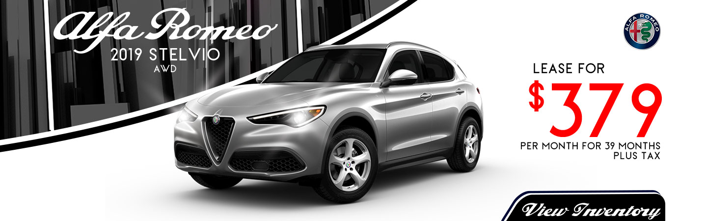 Stelvio Lease for $379 per month