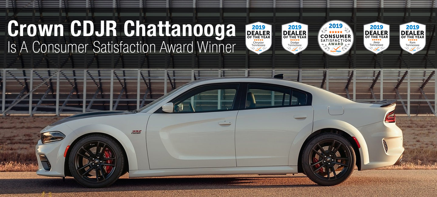 2019 Consumer Satisfaction Award | Crown CDJR Chattanooga | The Better Way to Buy