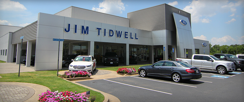 Jim Tidwell Ford in Kennesaw, GA has a large inventory of new and used cars, auto repair services, and auto financing available.