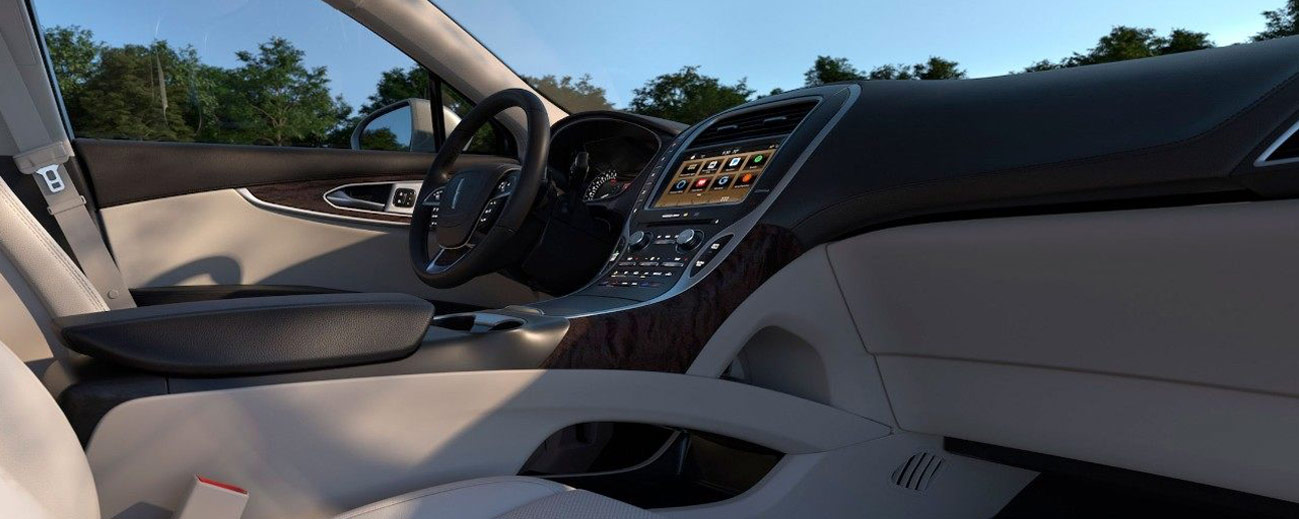 Safety features and interior of the 2019 Lincoln Nautilus - available at our Lincoln dealership near Scranton, PA.