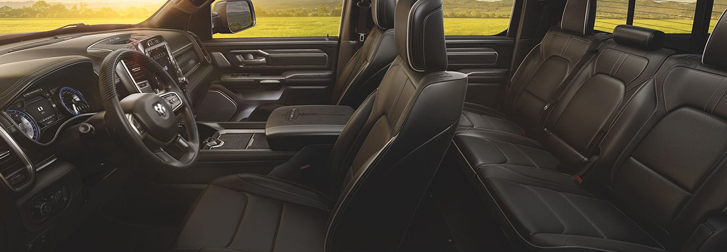 Interior image of the 2020 Ram 1500 for sale